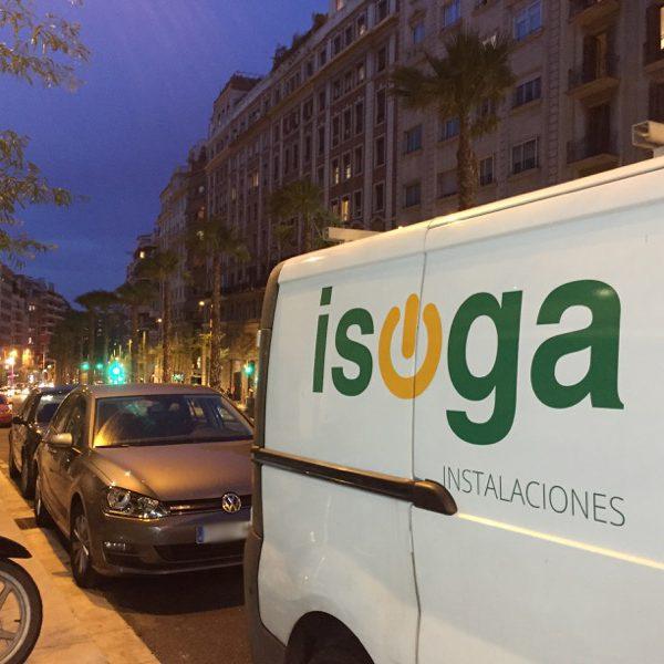 ISOGA reparaciones de averías eléctricas de baja tensión en A Coruña y Galicia